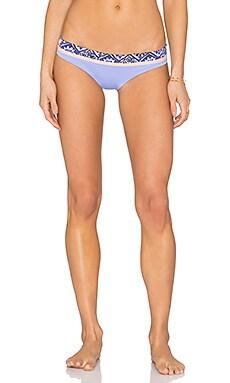 Maaji Lavender Timbers Bikini Bottom in Lavender & Peach