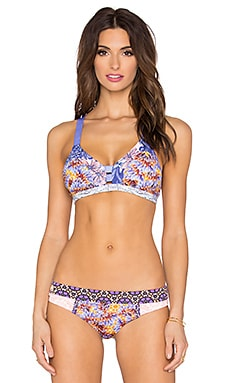Maaji Feel The Wind Bikini Top in Lavender Multi