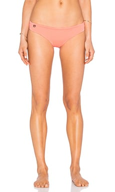 Starfish Surfer Bikini Bottom in Coral & Peach