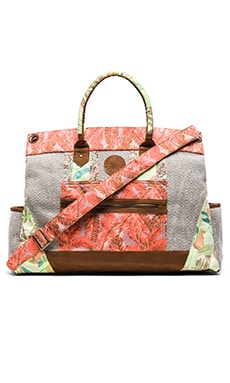 Weekender Bag in Pink Multi