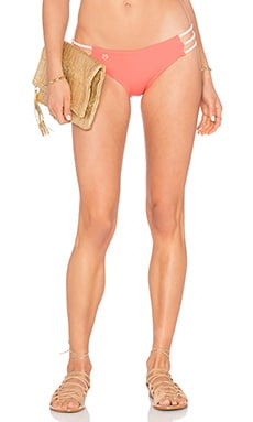 Maaji Starfish Vibes Bikini Bottom in Coral
