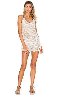 Crystal Deck Romper in Neutral