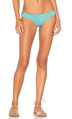 Sage Memories Bikini Bottom in Blue & Cream