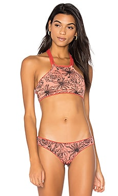 Reversible Cinnamon Lofty Top in Red Multi