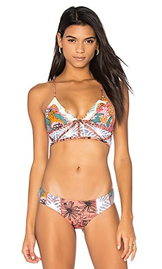 Dance Fever Top in Red Multi