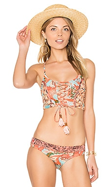 Boogie Fever Top in Orange Multi
