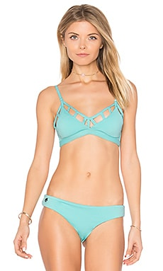 Reversible Splash Dancers Top in Blue Multi