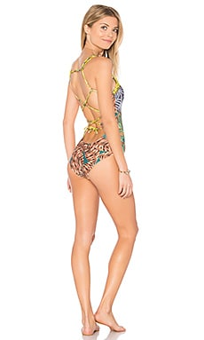 Angie Baby One Piece in Orange Multi