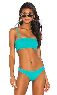 Reversible Ruched Bandeau Top Maaji $34