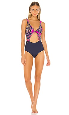 Reversible Tie Front One Piece Maaji $154