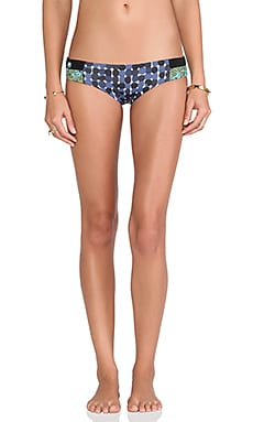 Maaji Signature Bikini Bottom in Blue Dots