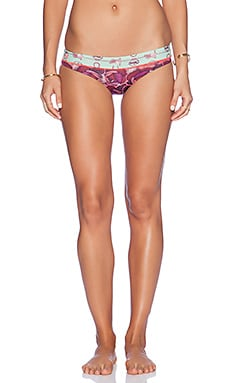 Maaji Signature Bikini Bottom in Rose Ponies