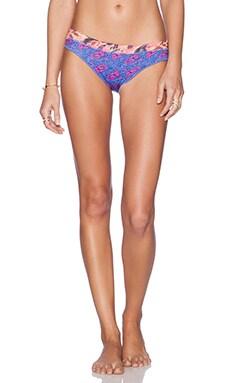 Maaji Majorelle Stallion Bikini Bottom in Royal & Coral