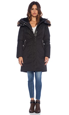 Mackage Kerry Jacket with Raccoon Fur in Black