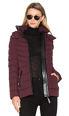 Patti Coat en Bordeaux