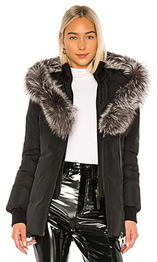 Adali Jacket With Fox Fur Collar Mackage $950