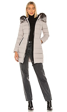 Calla Jacket With Fur Trim Mackage $950
