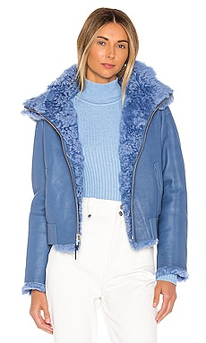 Zinnia Reversible Shearling Jacket Mackage $1,590