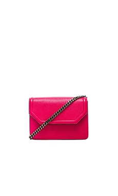 Mackage Zuki Mini Crossbody in Hot Pink