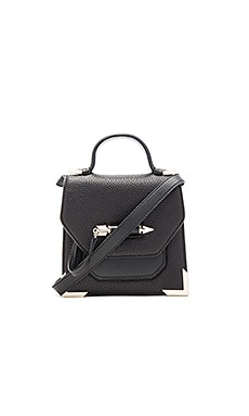 Rubie Mini Crossbody in Black