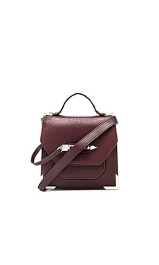 Mackage Rubie Crossbody Bag in Bordeaux