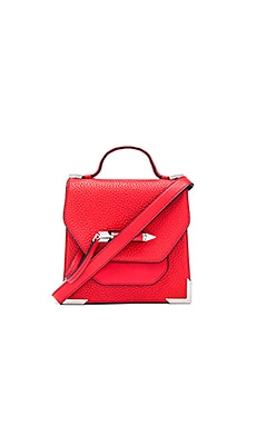 Rubie Mini Crossbody Bag in Flame
