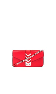 Mackage Nynna Mini Crossbody Bag in Flame