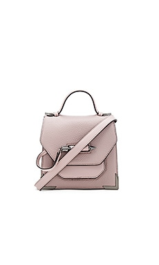 Rubie Mini Crossbody Bag in Blush & Gunmetal