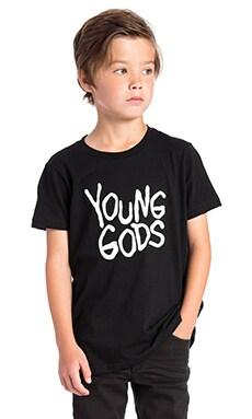 YOUNG GODS 그래픽 티셔츠