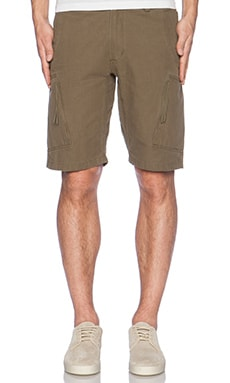 Maharishi Tour Cargo Shorts in Olive