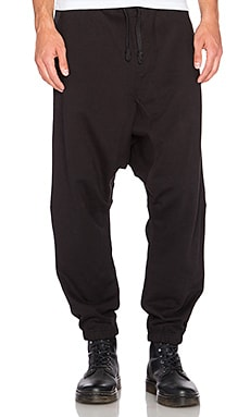 Maharishi MA Low Sweat Pant in Black