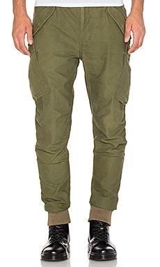 Maharishi Upcycled M65 Rib Custom Cargo Pant in Olive