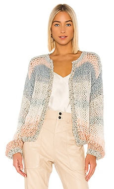 Ombre Cropped Cardigan Maiami $667