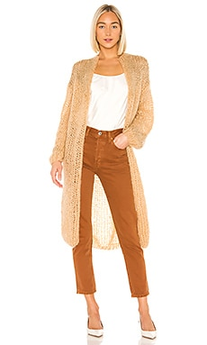 Western Glam Long Cardigan Maiami $624 NEW ARRIVAL