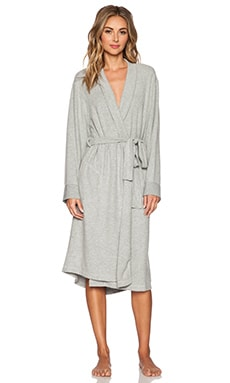 MAISON DU SOIR Milan Robe in Light Heather Grey