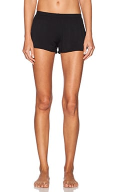 MAISON DU SOIR San Sebastian Short in Black