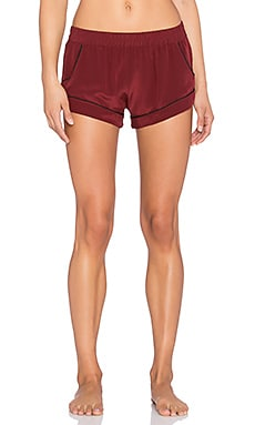 MAISON DU SOIR Jaclyn Short in Wine