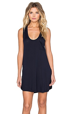 MAISON DU SOIR Menorca Dress in Navy