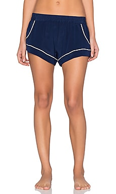MAISON DU SOIR Jaclyn Short in Navy