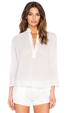 MAISON DU SOIR Copenhagen Top in White