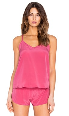 Luella Tank in Rose