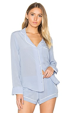 Bardot Top in Periwinkle
