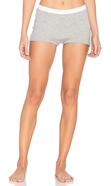 Peony Shorts in Light Heather Grey