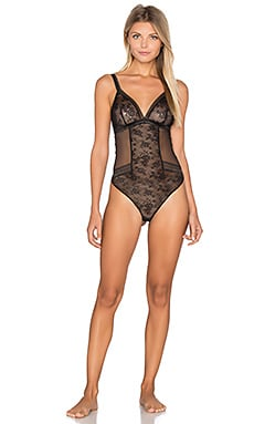 MAISON LEJABY Miss LeJaby Bodysuit in Black