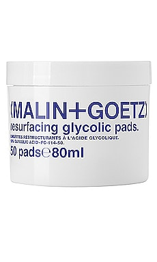 COTONS DÉMAQUILLANTS VISAGE RESURFACING MALIN+GOETZ $52 BEST SELLER