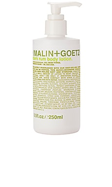Rum Body Lotion MALIN+GOETZ $35 BEST SELLER