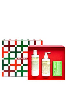 BERGAMOT HAND WASH + BODY LOTION + BAR SOAP 선물 세트 MALIN+GOETZ $52