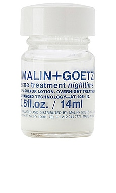 TRAITEMENT ANTI-ACNÉ NIGHTTIME MALIN+GOETZ $22