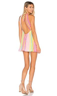 Купить Платье-футляр ember - MAJORELLE розового цвета