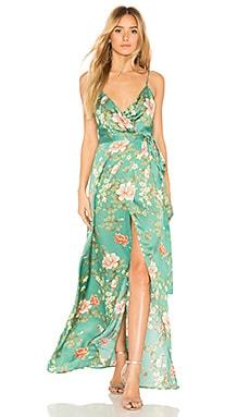 Cubano Maxi Dress MAJORELLE $210